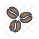 Coffee Beans Beans Grey Coffee Beans Icon