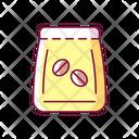 Coffee Bean Bag Icon