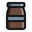Coffee Bootle Coffeee Beans Icon