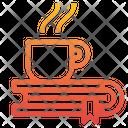 Book Coffee Break Icon