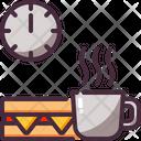 Break Coffee Sandwich Icon