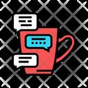 Coffee Break Communication Icon