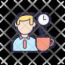 Coffee Break Rest Icon
