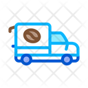Coffee Car Energy Icon