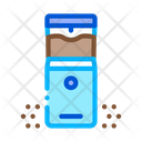 Coffee Chopper Energy Icon