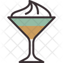 Coffee Cocktail Cream Coffee Cocktail Icon