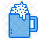 Beverage Coffee Cream Icon