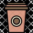 Hot Drinks Takeaway Icon