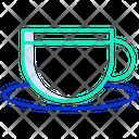 Icup Sauccer Coffee Cup Coffee Mug Icon