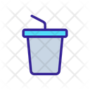 Takeout Glass Drink Icon