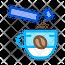 Coffee Sugar Energy Icon
