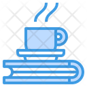 Coffee Cup Coffee Book Icon