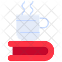 Coffee Cup Book Coffee Icon