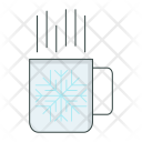Coffee Cup Snowflake Icon