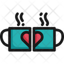 Coffee Cup Heart Drink Icon