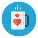 Love Tea Coffee Icon