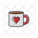 Mug Romantic Lovers Icon