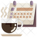 Coffee Date Date Calendar Icon