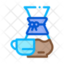 Coffee Decanter Cup Icon