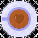 Coffee Cup Coffee Decoration Heart Coffee Icon