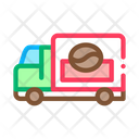 Coffee Production Delivery Icon