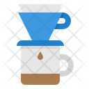 Coffee Drip Filter Coffee Shop Icon