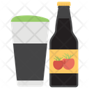 Coffee Flavour Beer Beer Brew Icon