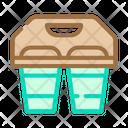 Coffee Tea Cups Icon