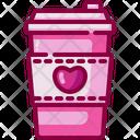 Coffee Valentines Day Coffee Mug Icon