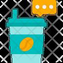 Graphic Design Creative Coffee Icon