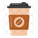 Takeaway Drink Drink Coffee Glass Icon