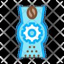 Coffee Grinder Mechanism Icon