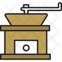 Hand Coffee Grinder Icon