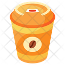 Coffee In Paper Cup Icon