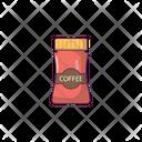 Coffee Jar Beans Icon