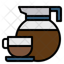 Coffee Cup Jar Coffee Break Icon