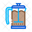 Coffee Glass Pot Icon