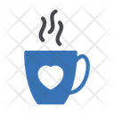 Love Tea Coffee Icon