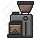 Machine Grinder Bean Icon