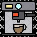 Cafe Coffee Machine Icon