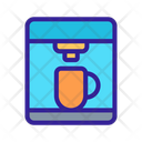 Coffee Cooking Machine Icon