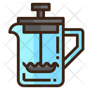 Icoffee Maker Press Icon