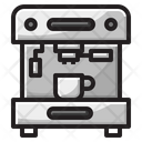 Coffee Cup Machine Icon