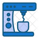 Coffee Maker Mixing Home Icon