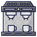 Espresso Machine Barista Coffee Maker Icon