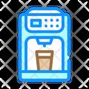 Coffee Maker Color Icon