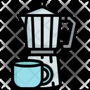 Coffee Maker Moka Icon