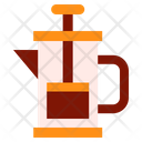 Coffee Maker French Press Icon