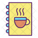 Imenu Book Coffee Menu Cafe Menu Icon