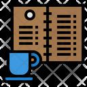 Menu Meal Coffee Icon